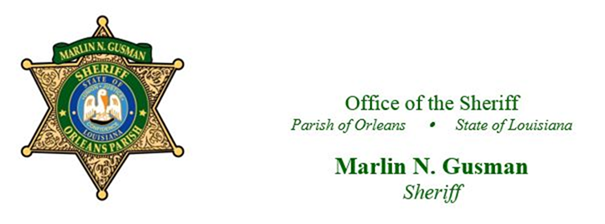 Orleans Parish Sheriff's Office Update Regarding COVID-19 Precautions and Activities
