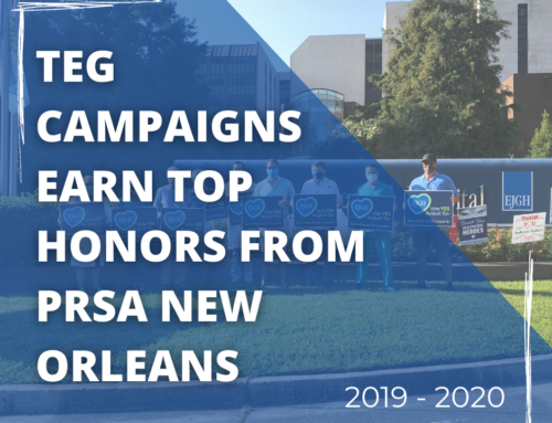 The Ehrhardt Group Earns Top Honors from PRSA NOLA for Compelling Campaigns in 2019-2020